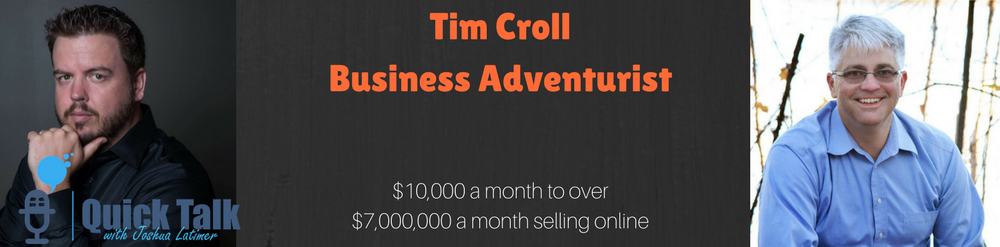 Tim Croll has that very perspective because he has been involved in so many different types of businesses.